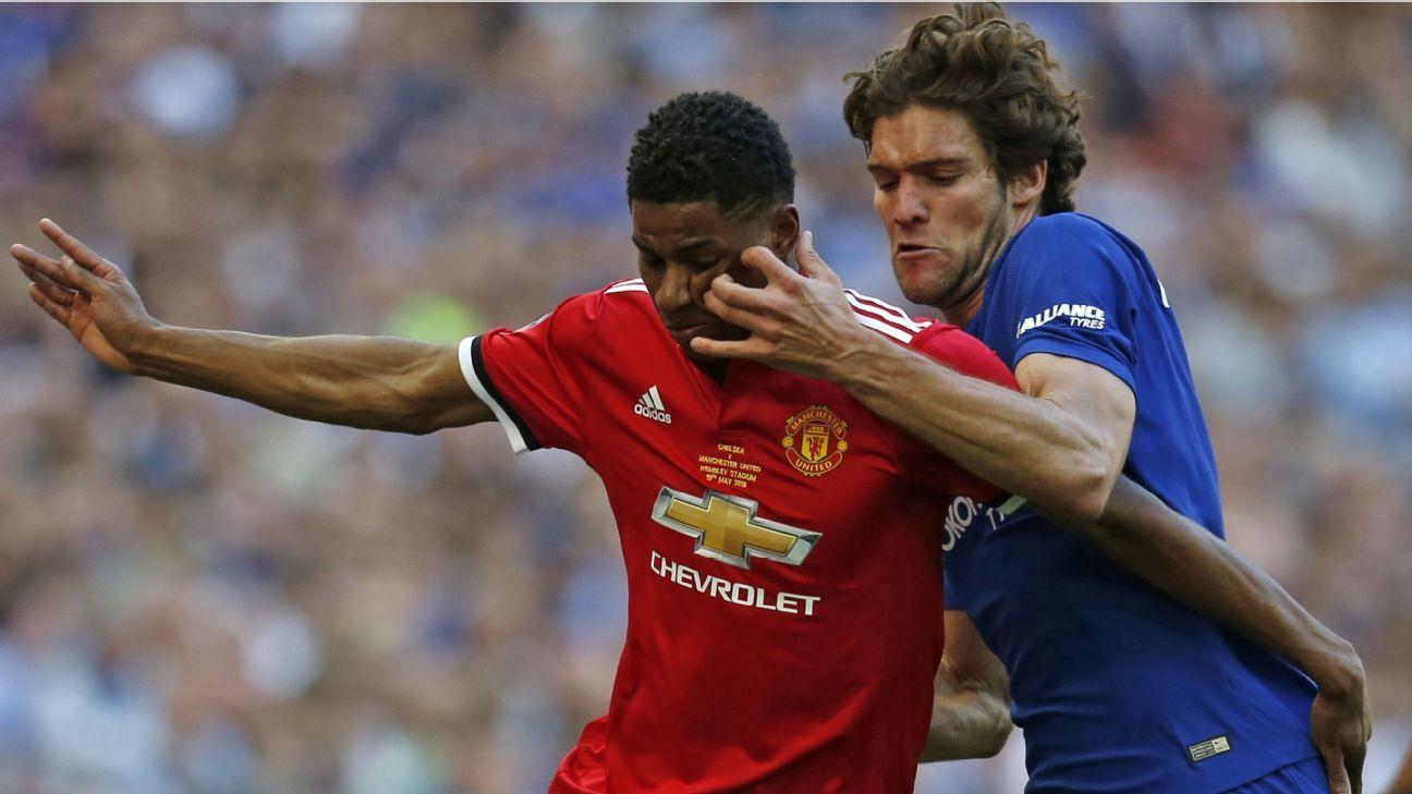 Rashford can 'fight off' Lukaku, Sanchez - Rio