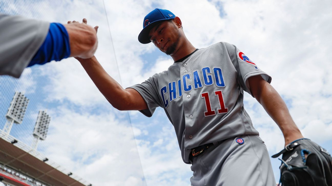 Chicago Cubs put struggling right-hander Yu Darvish on DL with right triceps tendinitis