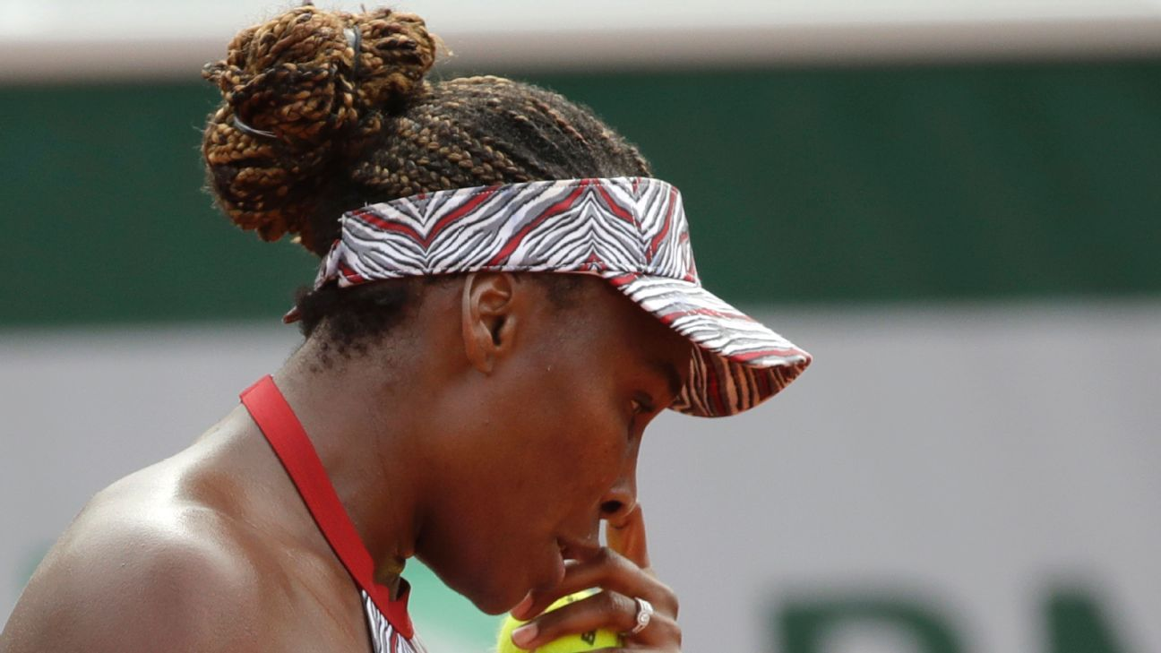 French Open 2018 - An unhappy 'first' for Venus Williams this season