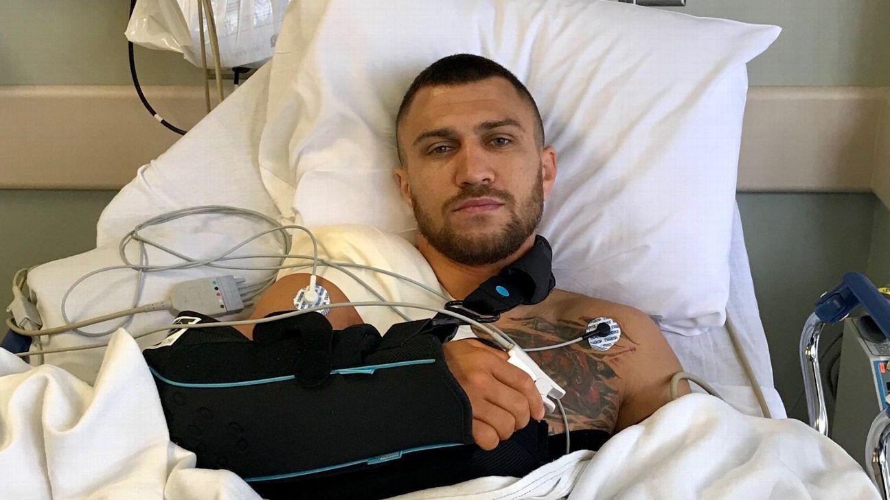 Doc: Lomachenko has 'nice labrum repair'