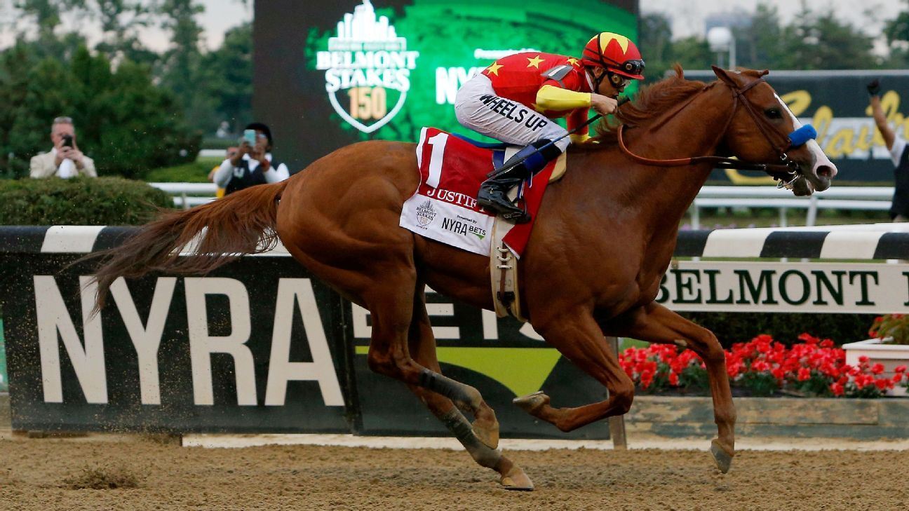Justify becomes 2nd undefeated horse to win Triple Crown