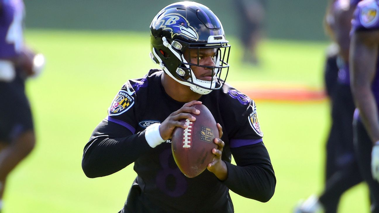 First-round pick Lamar Jackson says he wants to show off his growth as a quarterback,