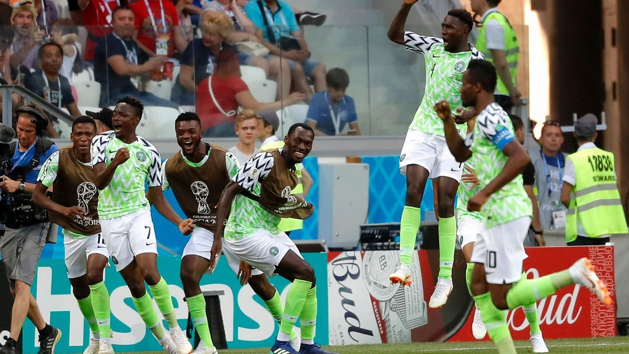 nigeria vs islandia reporte partido 22 junio