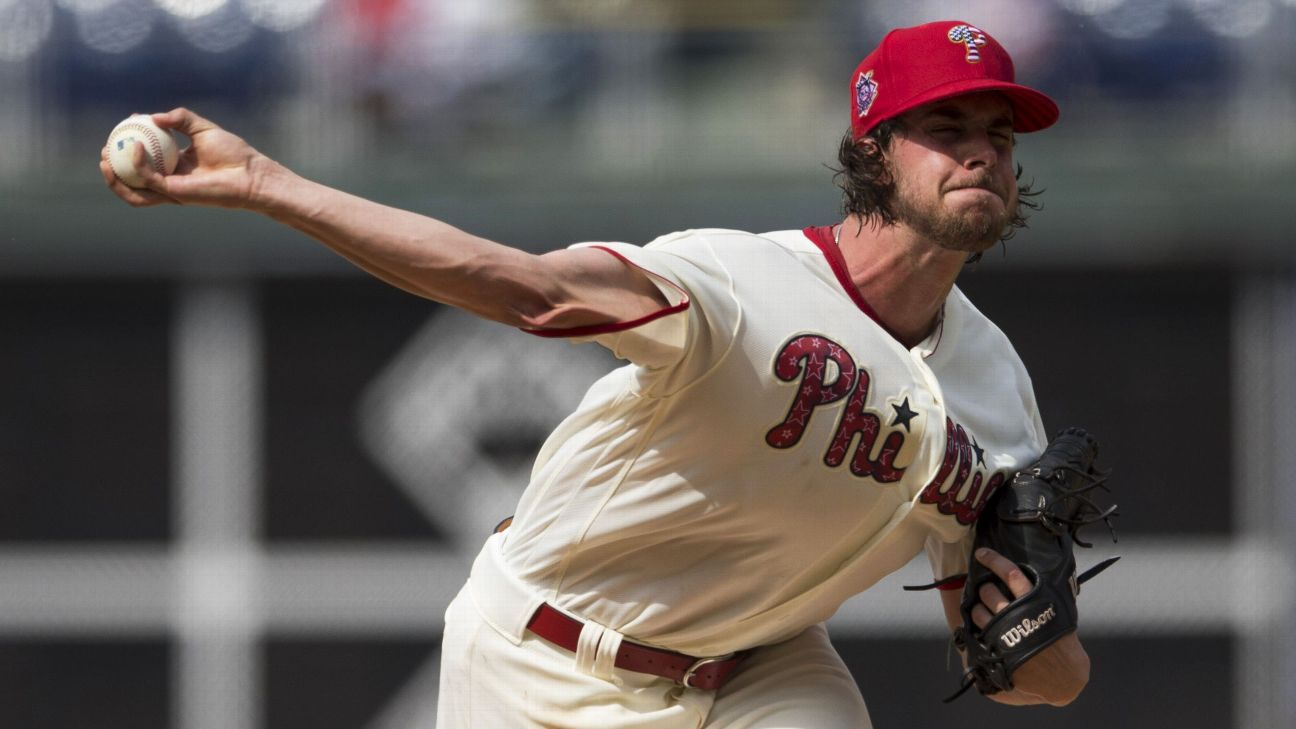 Aaron Nola, of Philadelphia Phillies, to start Saturday to line up for All-Star Game appearance