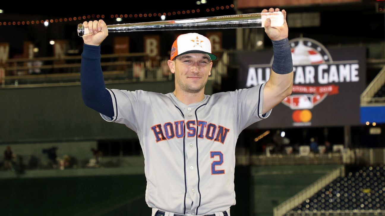alex bregman of houston astros named all