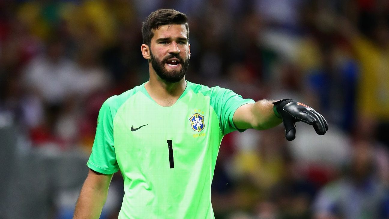 Alisson undergoing Liverpool medical - Monchi