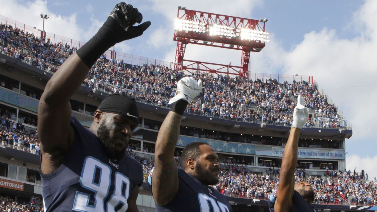Titans want to talk to Casey about protests