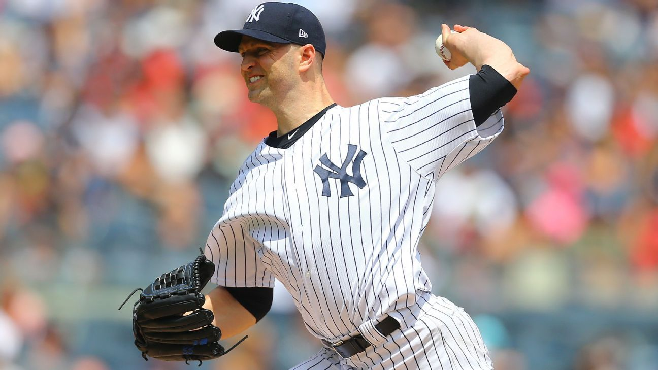Diagnostican al pitcher J.A. Happ, de Yankees, con fiebre aftosa