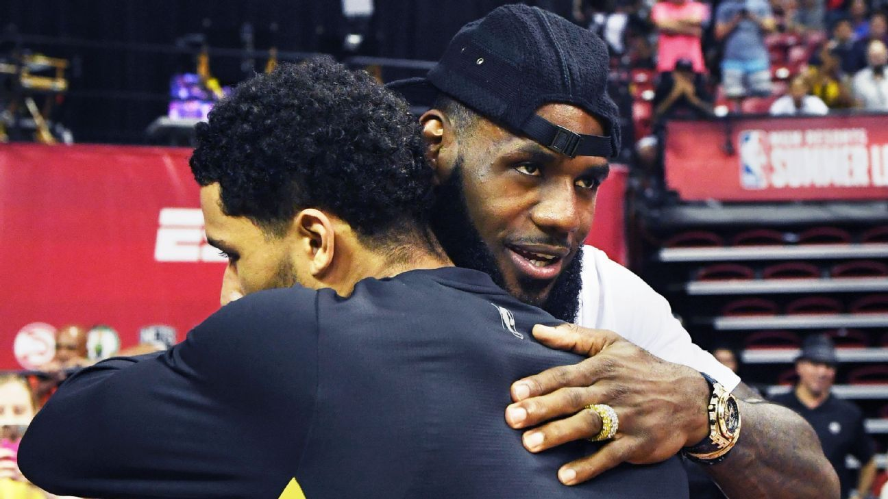 The wide-ranging reaction to LeBron James leaving Cleveland Cavaliers for Los Angeles Lakers from around ...