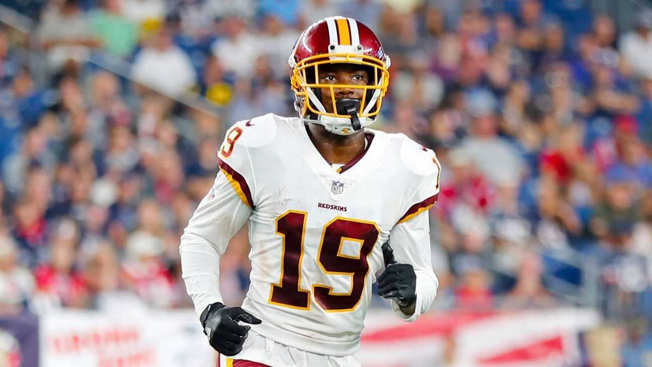 More bad news strikes the Redskins. Sources told ESPN that wide receiver Robert Davis has broken his tibia and suffered multiple ligament damage in his knee, ending his 2018 season.