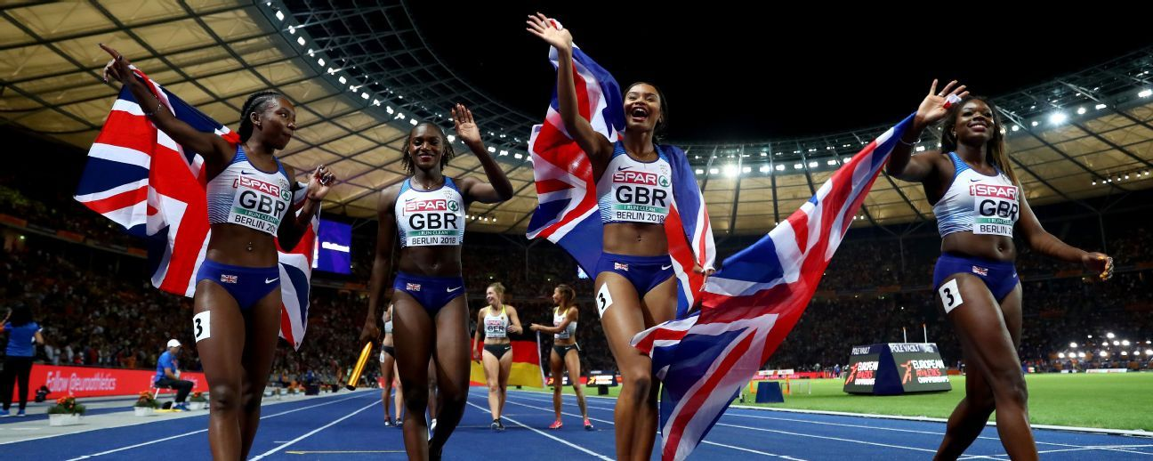 Black female European athletics winners