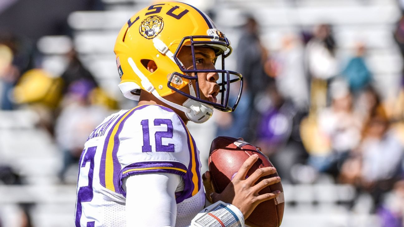 Justin McMillan became the second quarterback in the past 24 hours to announce intention to transfer from LSU, joining Lowell Narcisse.