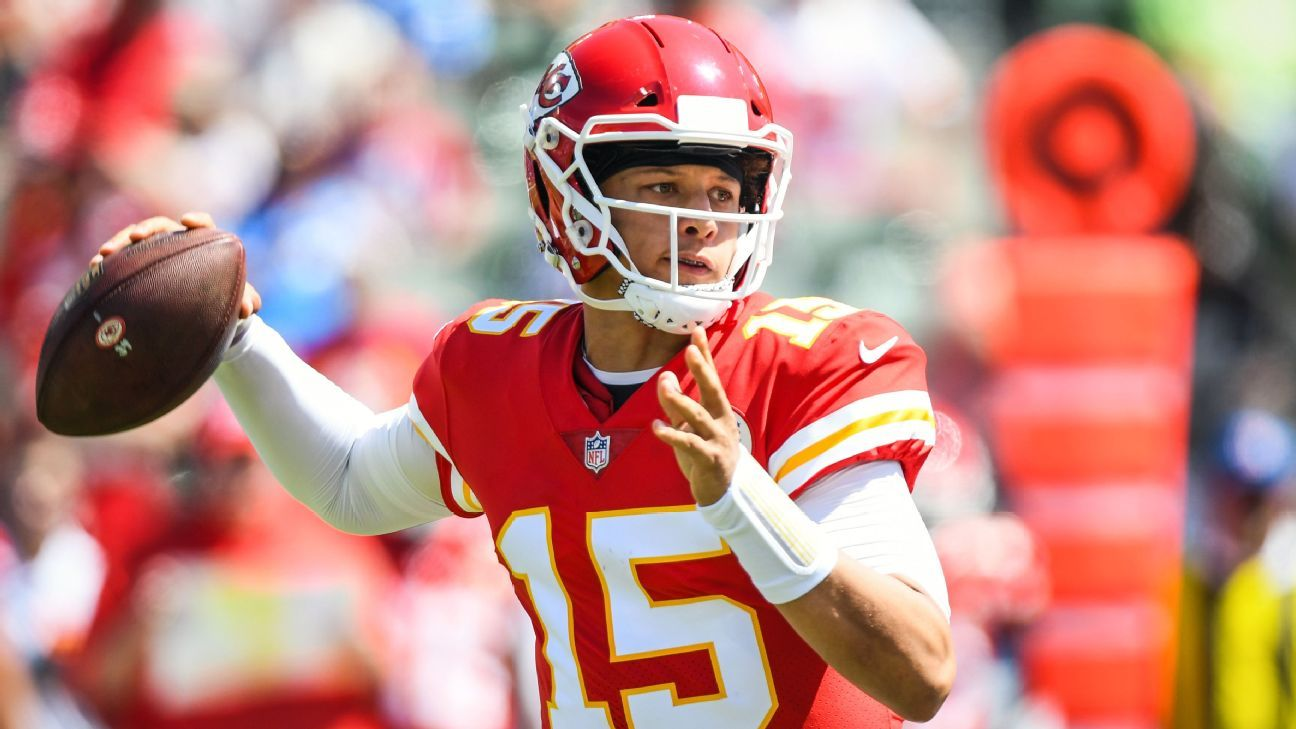Patrick Mahomes propels Kansas City Chiefs with 256 yards, 4 touchdowns