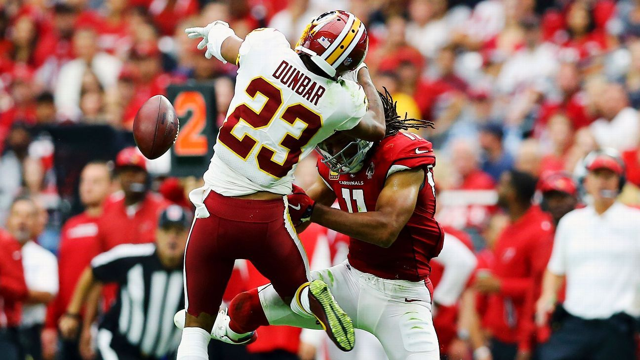 Image result for quinton dunbar against larry fitzgerald