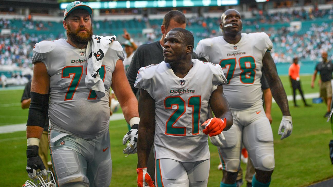 Frank Gore passed Curtis Martin for fourth on the all-time rushing list on Sunday.