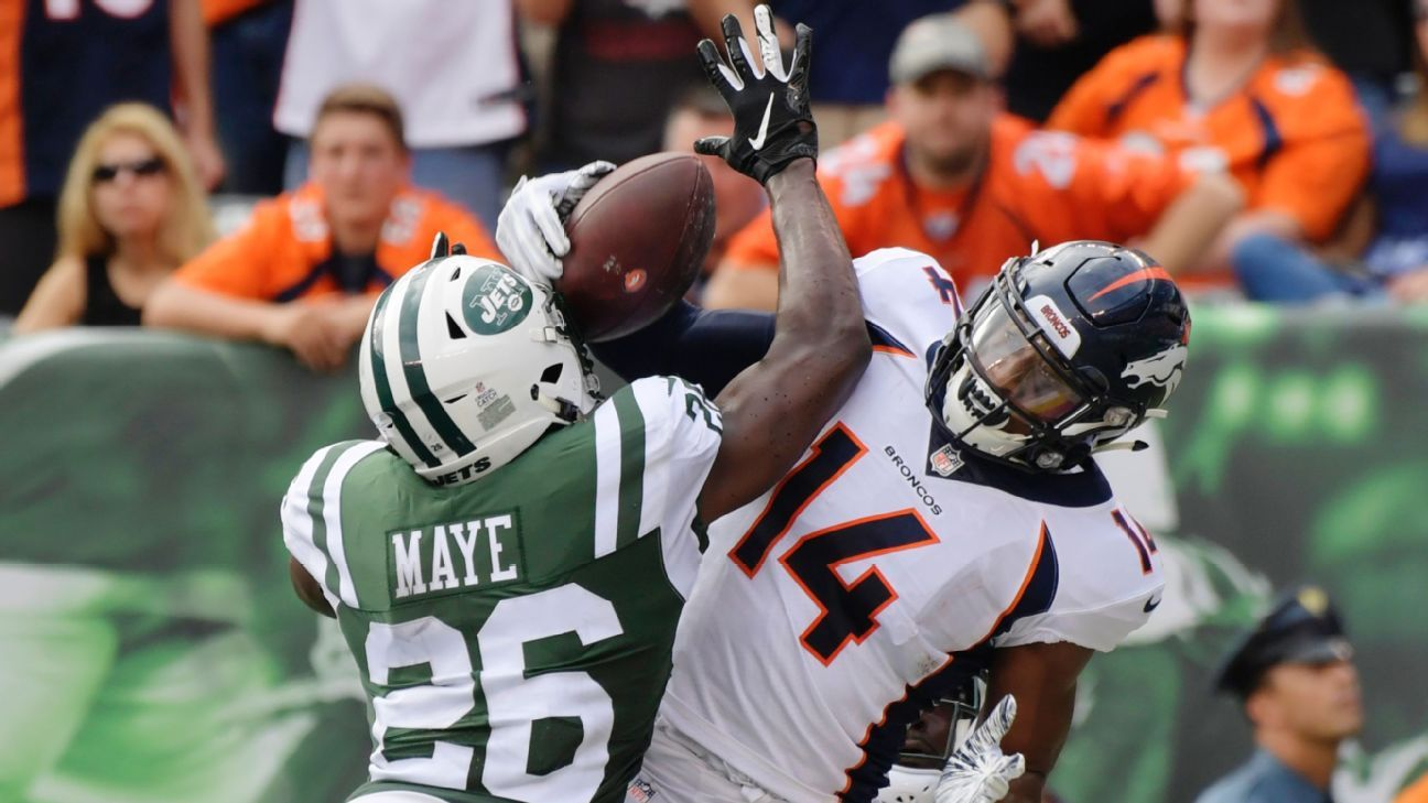 Source: Jets' Maye (thumb) out at least 3 weeks