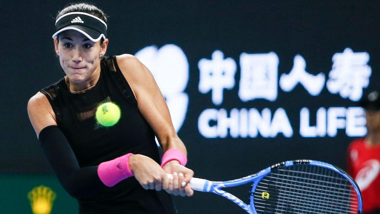 Garbine Muguruza Qiang Wang coast into Hong Kong Open last 16