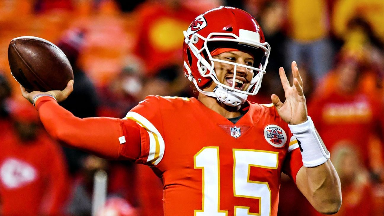 Patrick Mahomes might have ketchup for life if he's able to set a single-season record with 57 touchdown passes this season.