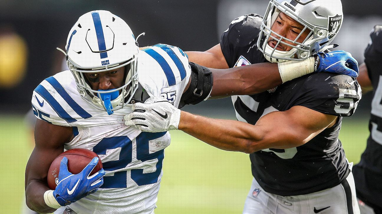 The Colts appear to finally have found their lead RB, the Saints got a measure of revenge and a Rams special-teamer saved their perfect start.