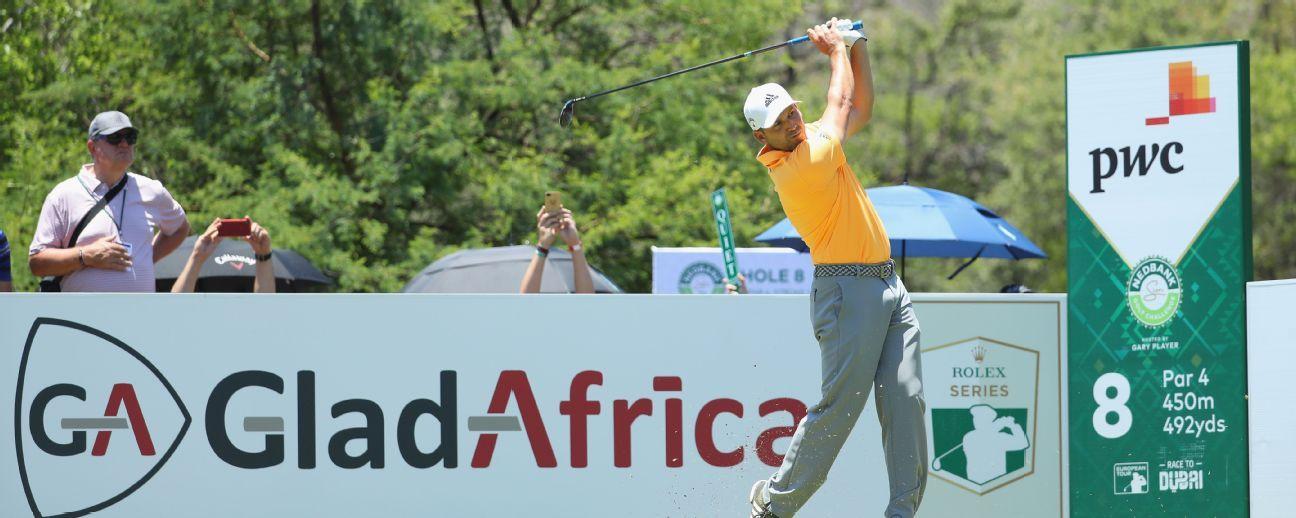 Nedbank Golf Challenge: Sergio Garcia has lead cut after closing bogey