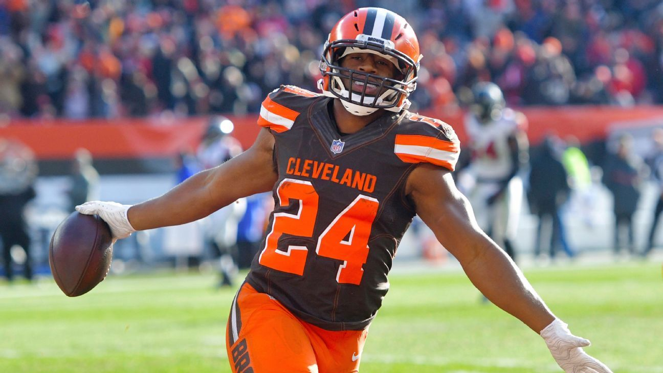 nick chubb week 10 rookie review