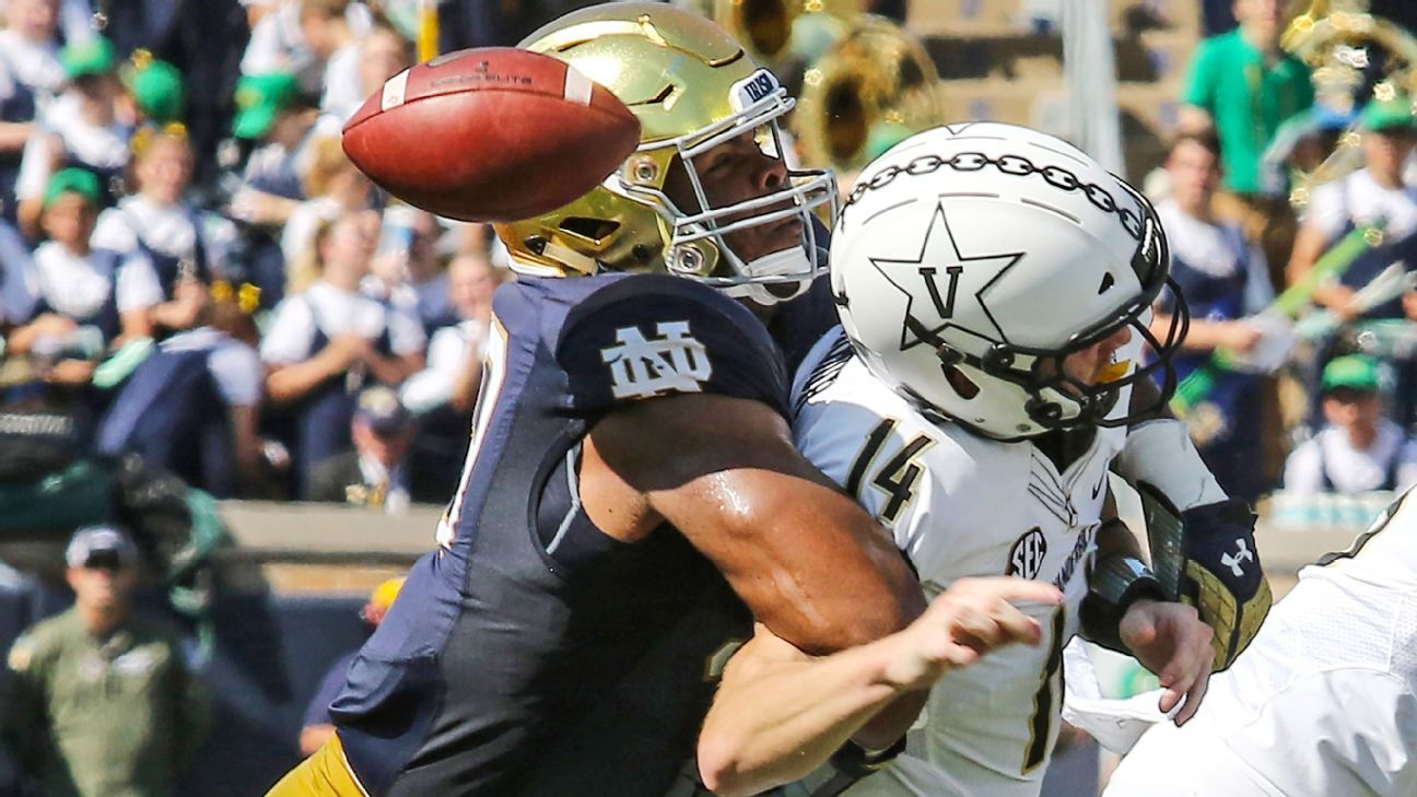 No Notre Dame position group has had a more impactful turnaround than the defensive line this season, and it all started at burger night at a local steakhouse.