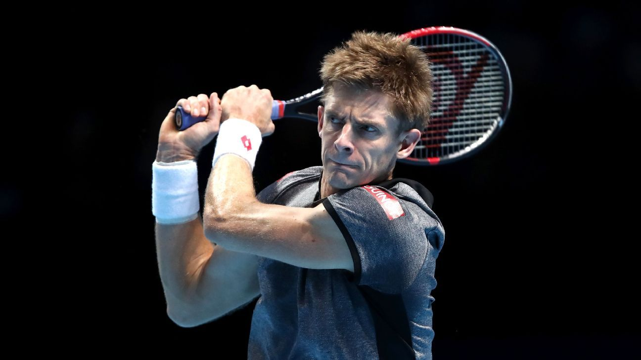Anderson thrashes Nishikori at ATP Finals