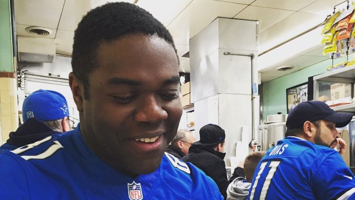 Pool jumping and drafting Lions: Actor Sam Richardson's Detroit fandom