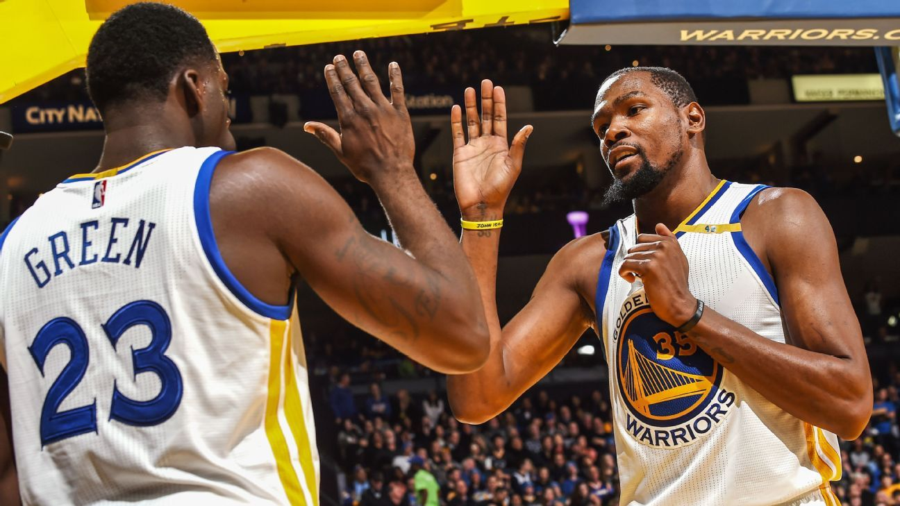 How good would the Warriors be without Kevin Durant?