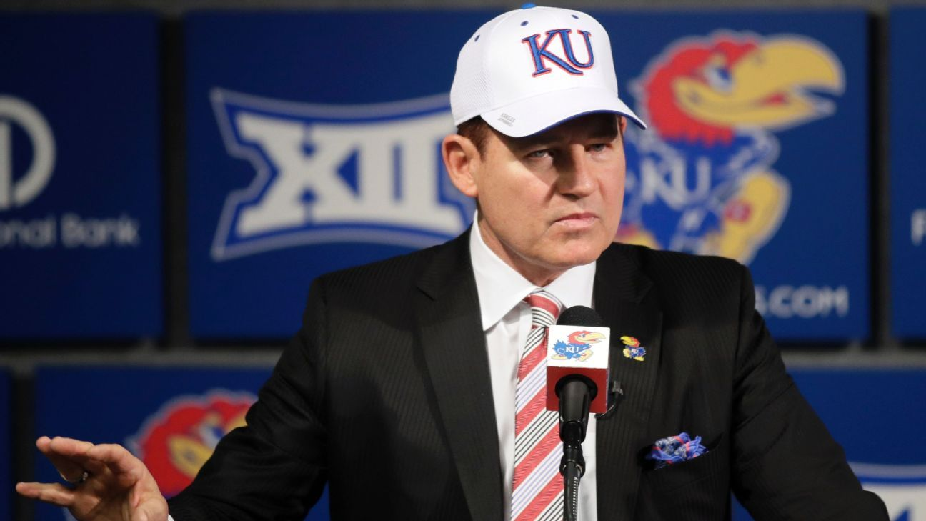Even during a tough rebuilding job at Kansas, The Hat will tweak rivals and add entertainment value, just like he did at Oklahoma State in his first head-coaching job.