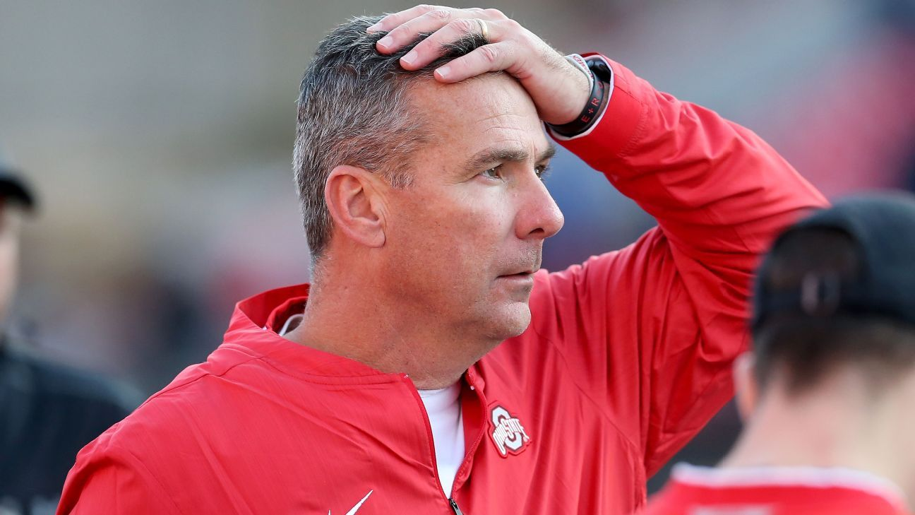 Ohio State was installed as a 3.5-point underdog against Michigan. Barring dramatic line movement, it would mark the first time the Buckeyes haven't been favored since the inaugural College Football Playoff National Championship.