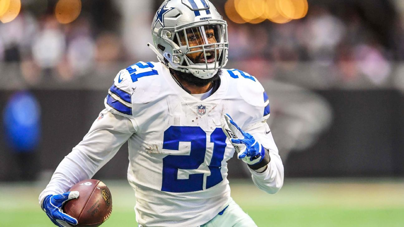 Saquon Barkley continued his historic rookie season with a 35.2 PPR fantasy point total, adding his 63rd and 64th receptions in the process, while Ezekiel Elliott also came up big.
