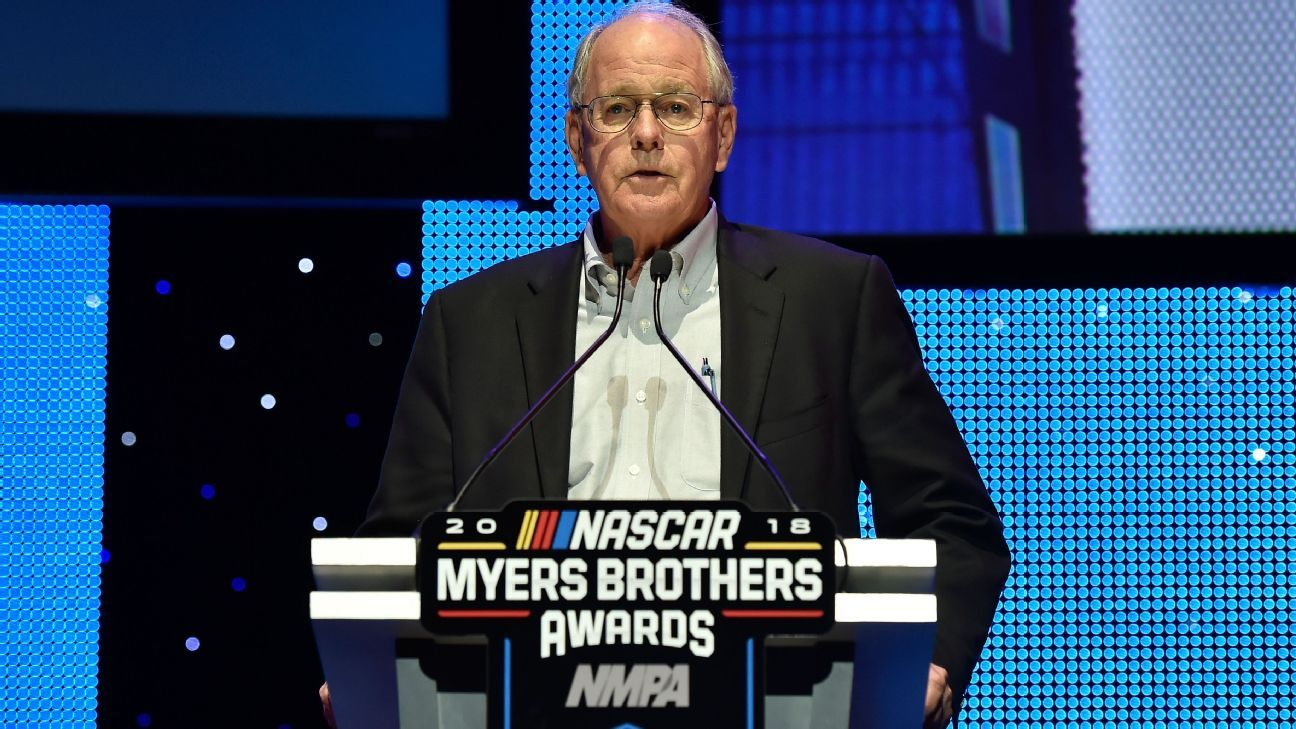 Season-end awards presented during annual NASCAR NMPA Myers Brothers Awards