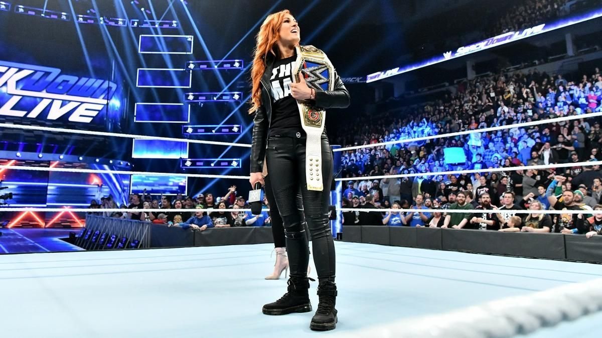 Wwe Power Rankings Becky Lynch Makes History As The