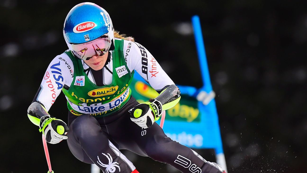 Shiffrin takes World Cup super-G at Lake Louise