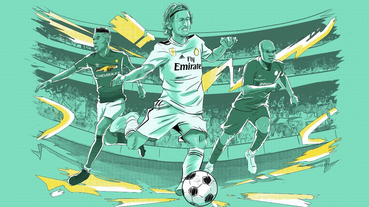 What's it like to face Luka Modric, No. 1 central midfielder in FC 100?