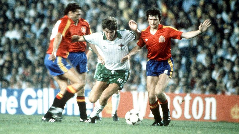 Northern Ireland v Spain