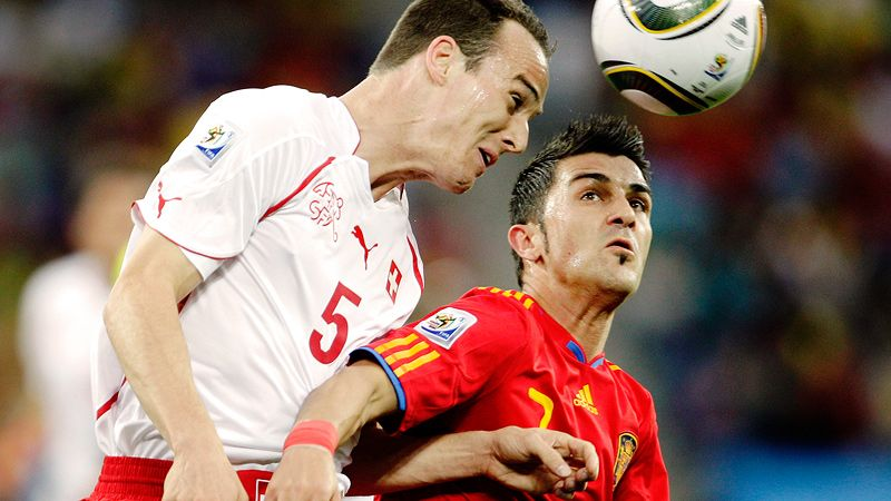 Spain vs. Switzerland