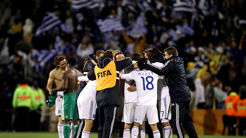 Greece v Nigeria