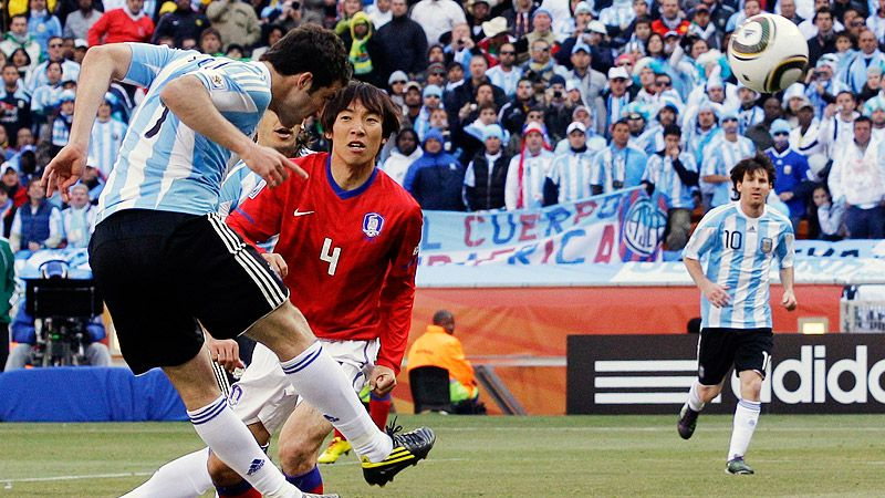 Argentina v South Korea