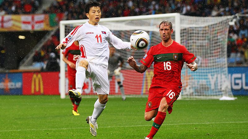 Portugal v North Korea