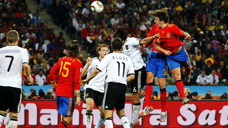 Germany v Spain