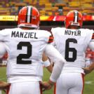Browns decide to start Hoyer over Manziel