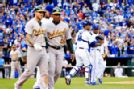 Ventura ejected as A's-Royals spat spills over