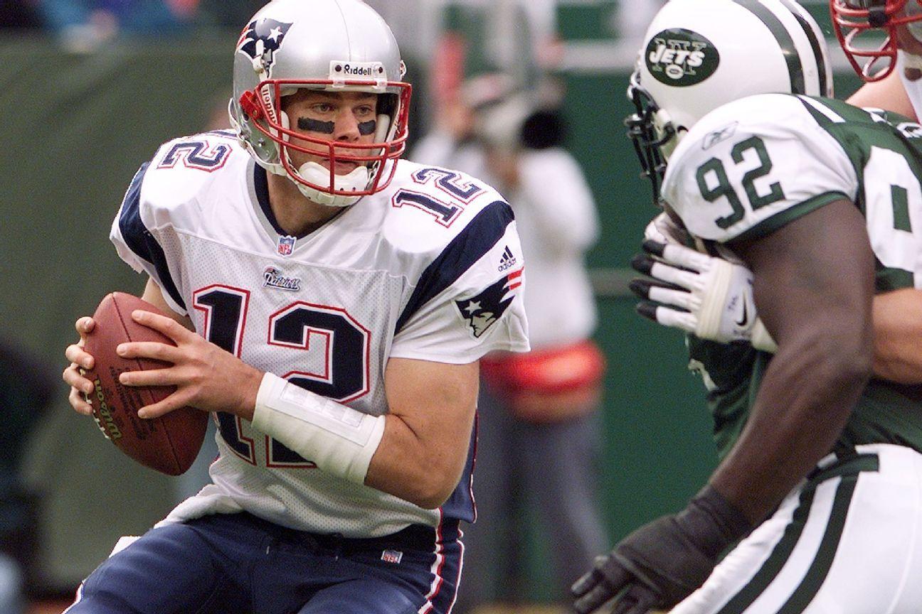 En el 2001, Tom Brady reemplazó a Drew Bledsoe tras lesionarse contra los New York Jets y comenzó su gran historia en la NFL.