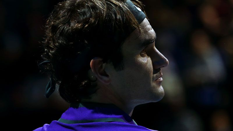 El choque entre Del Potro y Federer