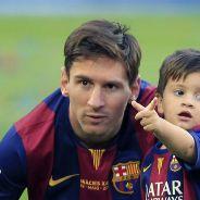 Messi y Thiago
