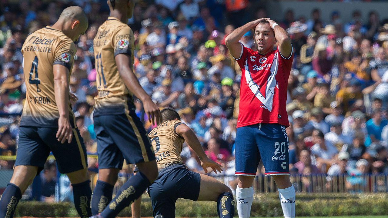 Pumas vs. Veracruz