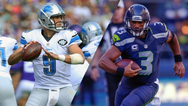 Detroit Lions vs. Seattle Seahawks