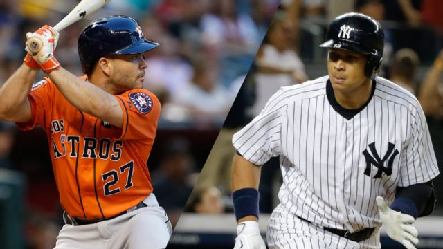Houston Astros vs. New York Yankees (re-air)